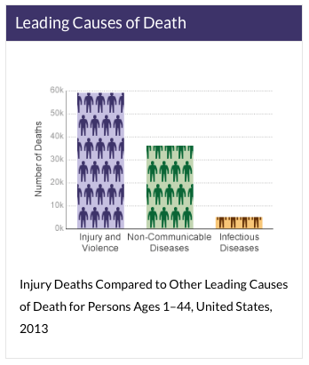 INJURY DEATHS STATISTICS