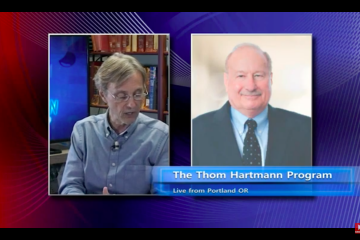 Sheller on Thom Hartman Show