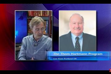 Sheller on Thom Hartman Show