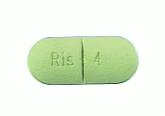 Risperdal green tablet